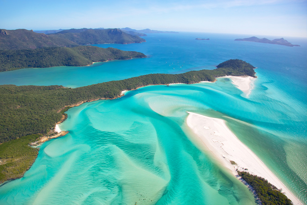 White Haven Beach - Whitsunday Australien